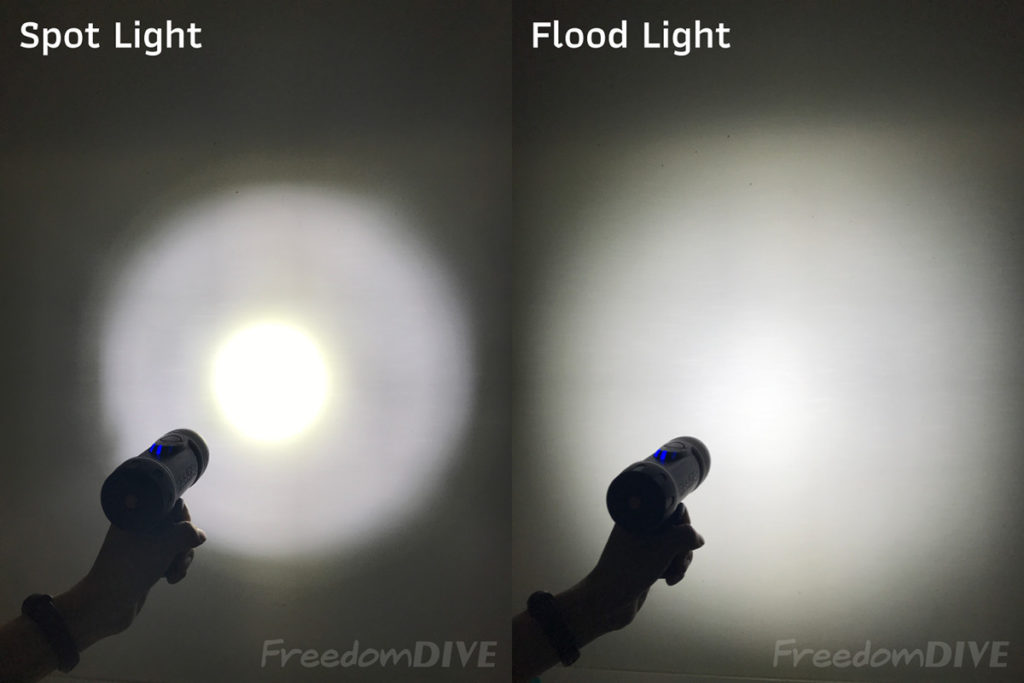 Flood Light vs Spot Light