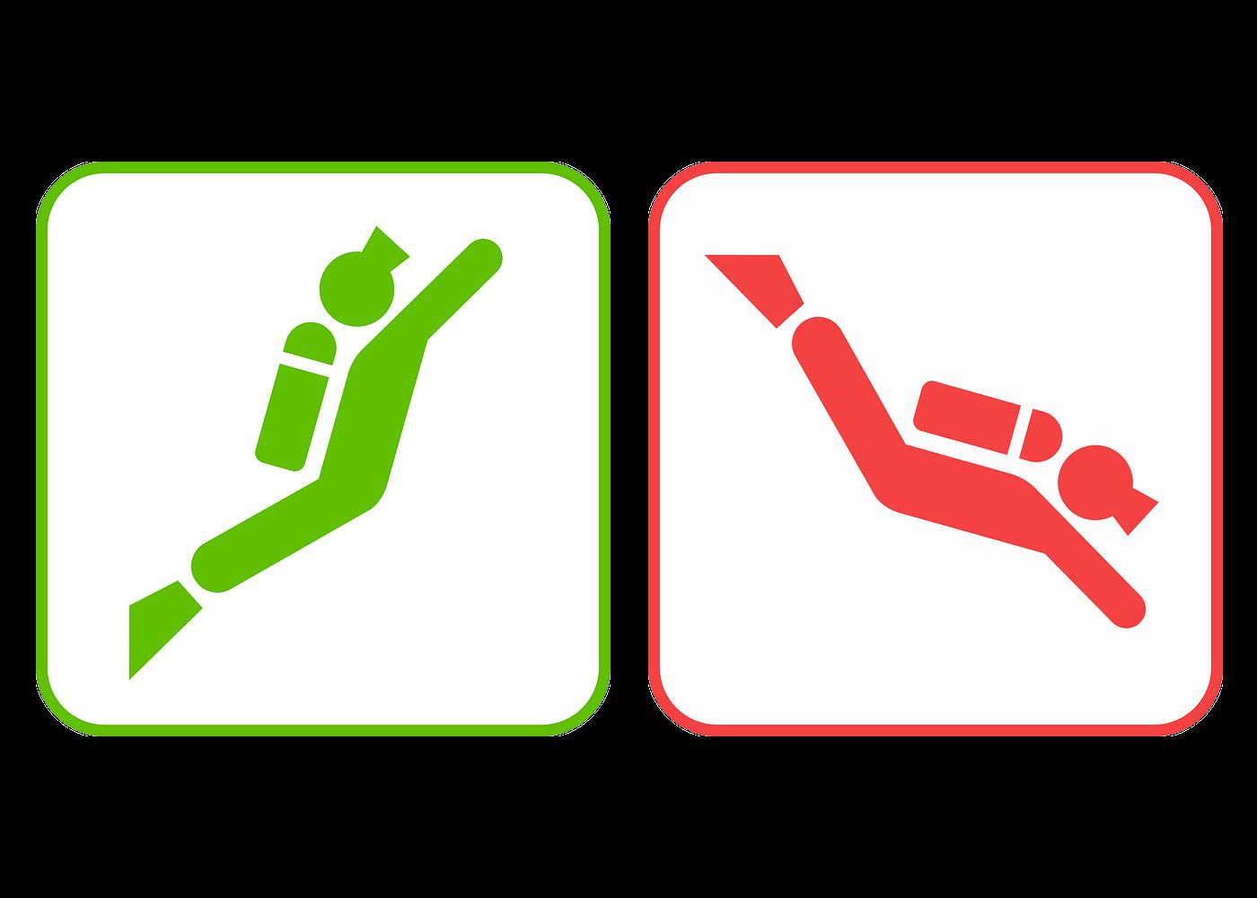 Descending Feet-First or Head-First