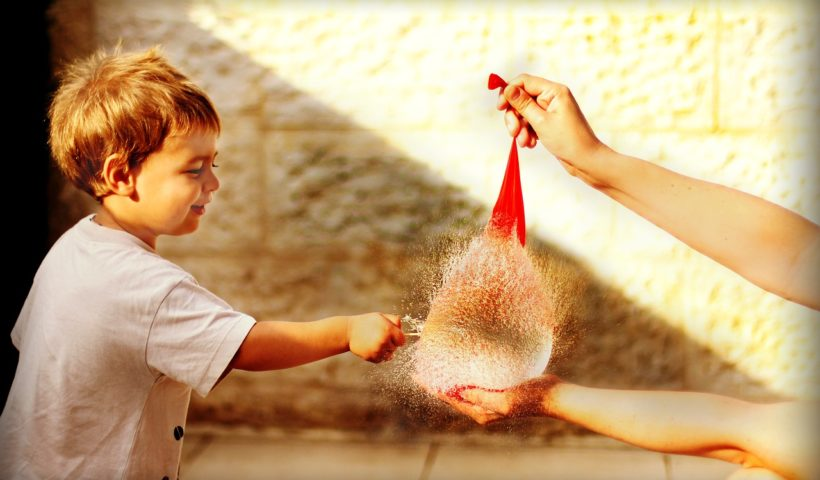 Balloon Burst by a Child