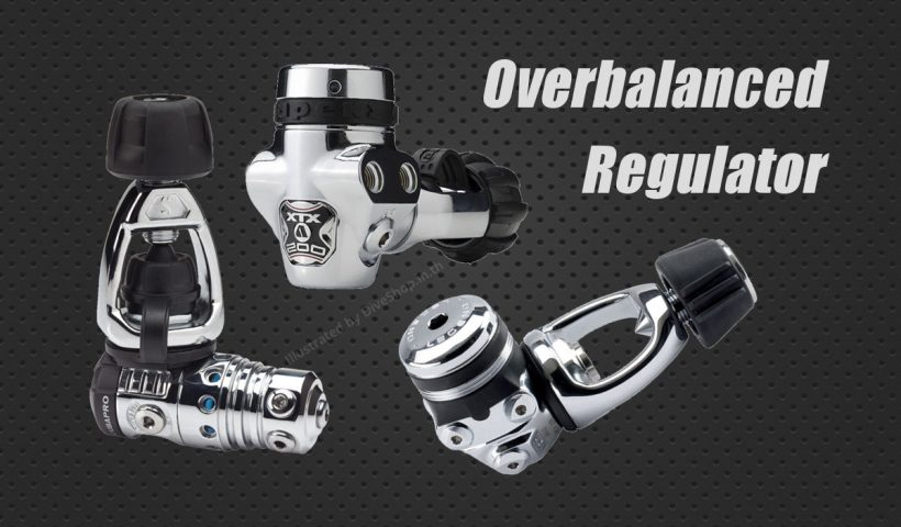 Overbalanced Regulator from Apeks, Aqua Lung, ScubaPro