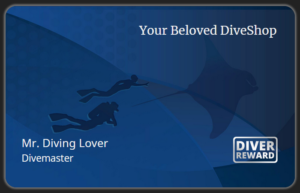 Diver Reward Card